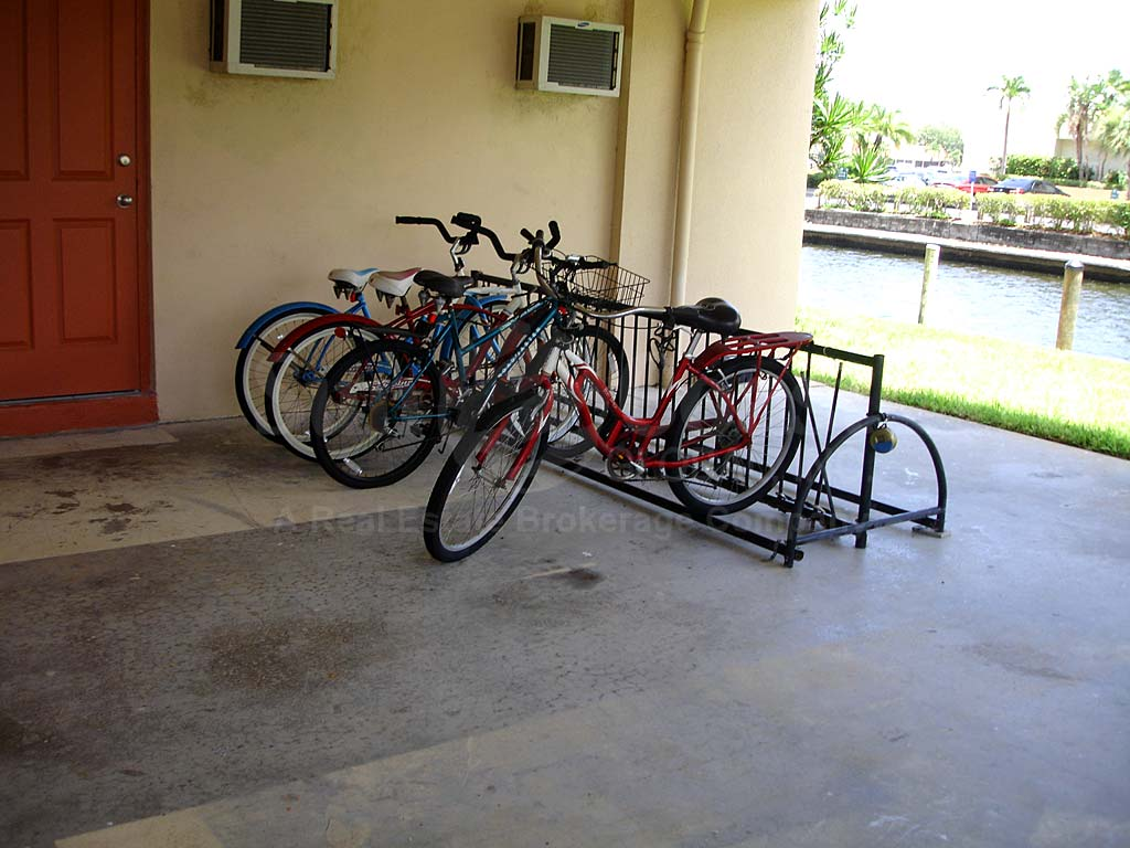 Sunset Towers Bike Rack