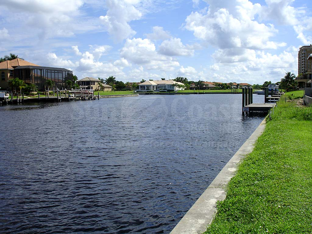 View Down the Canal From Tarpon Estates