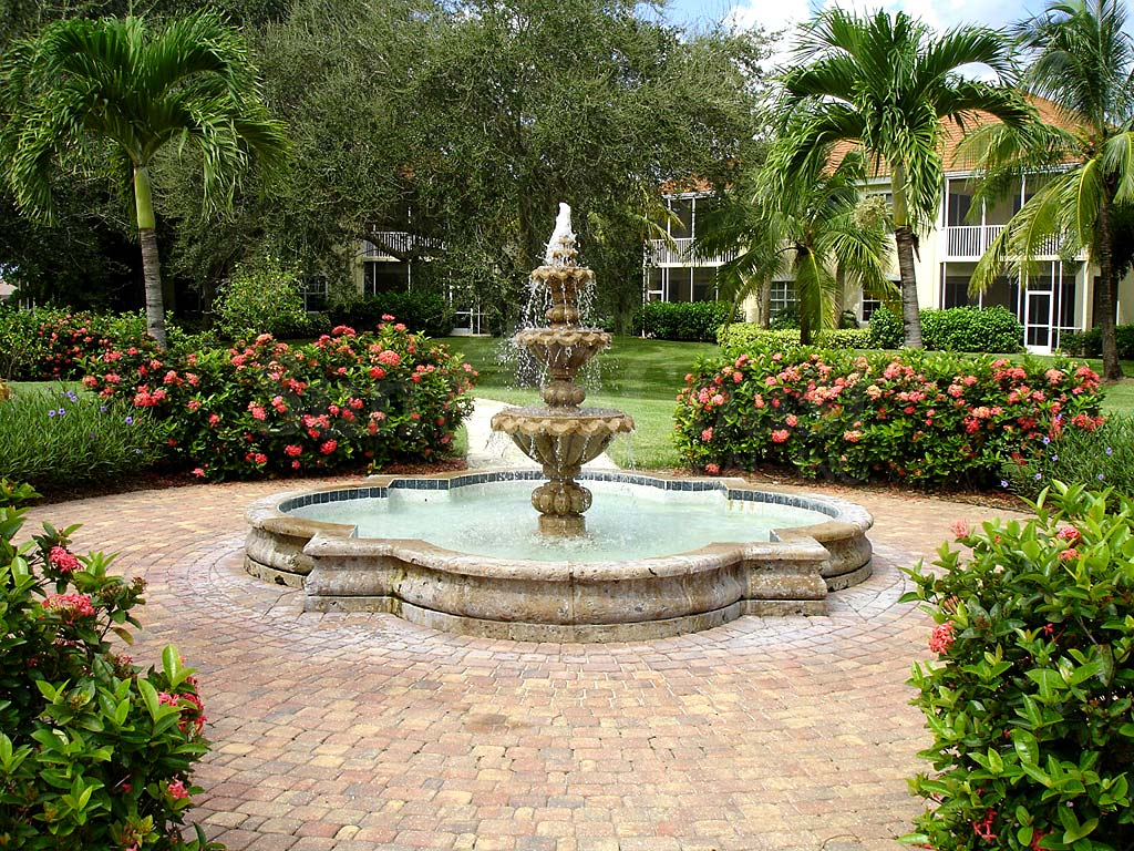 Tarpon Gardens Fountain