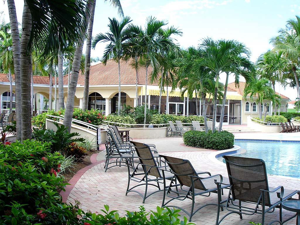 Tarpon Gardens Community Pool and Sun Deck Furnishings