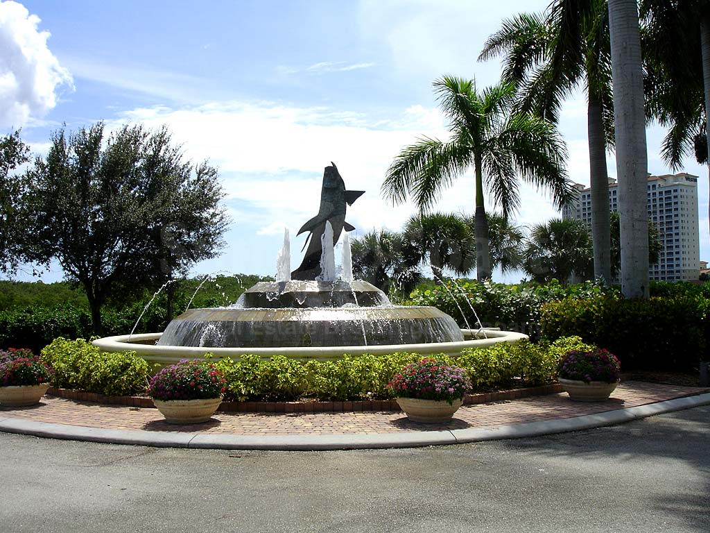 Tarpon Point Fountain