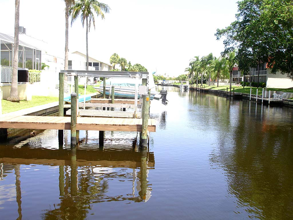 View Down the Canal From Viceroy Townhomes