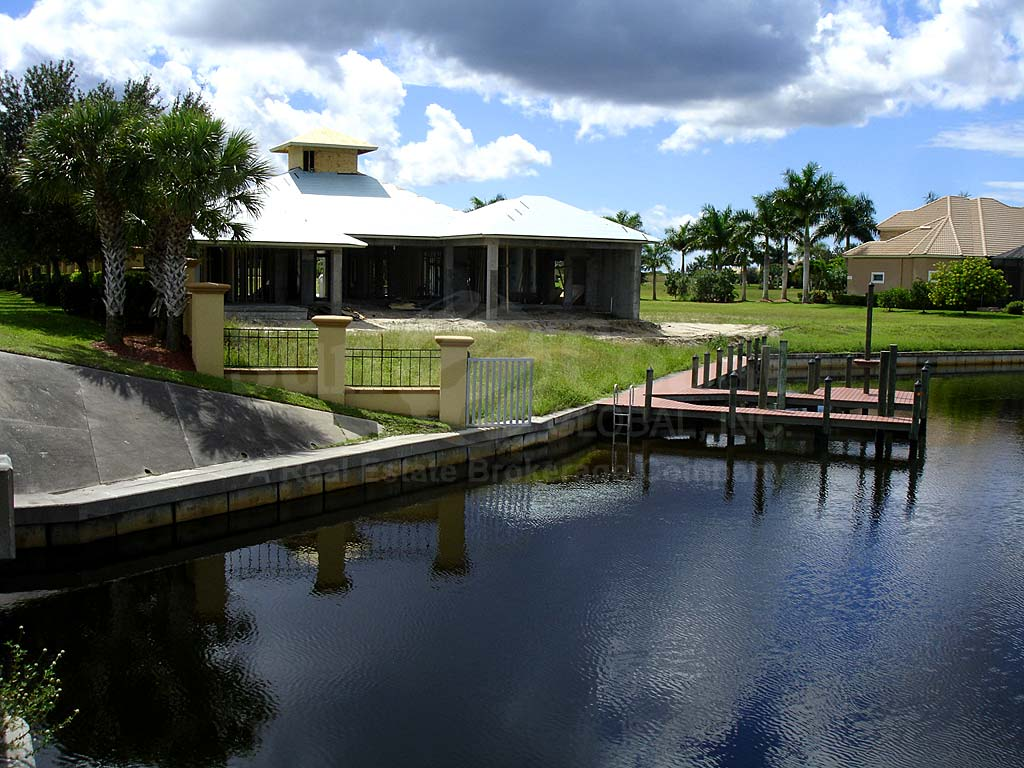 View Down the Canal From West Cape Estates