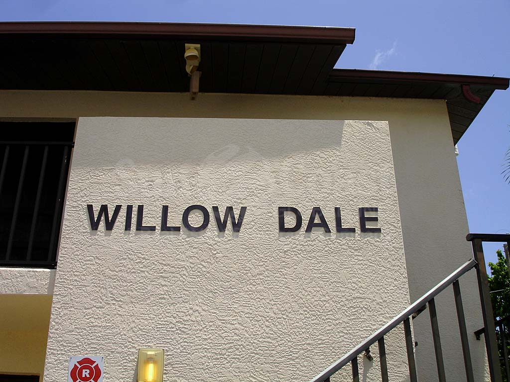 Willow Dale Signage
