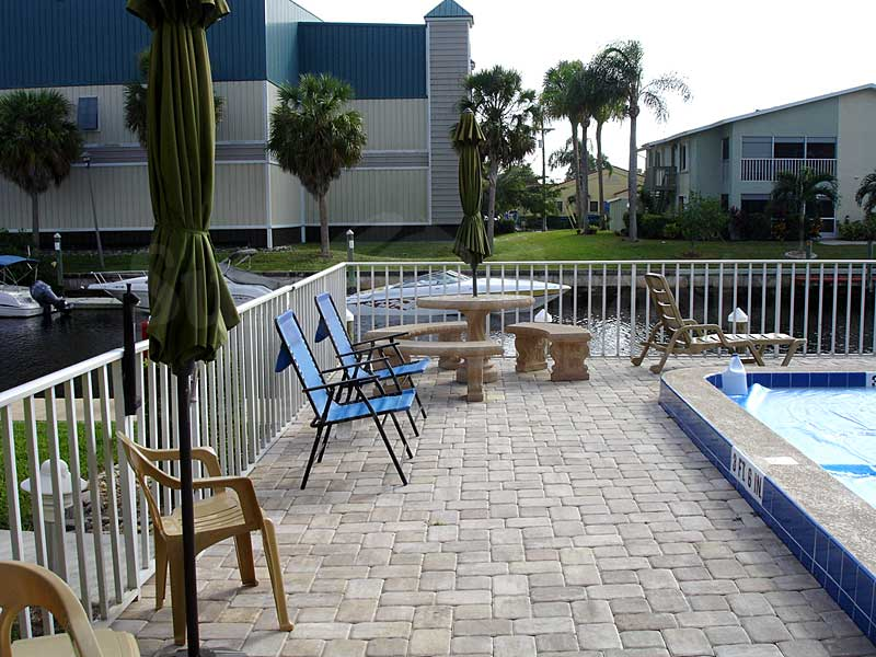 Wind Song Community Pool and Sun Deck Furnishings