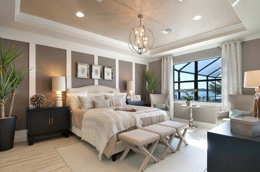 Stonewater Model Home in Corkscrew Shores, Estero, By Pulte