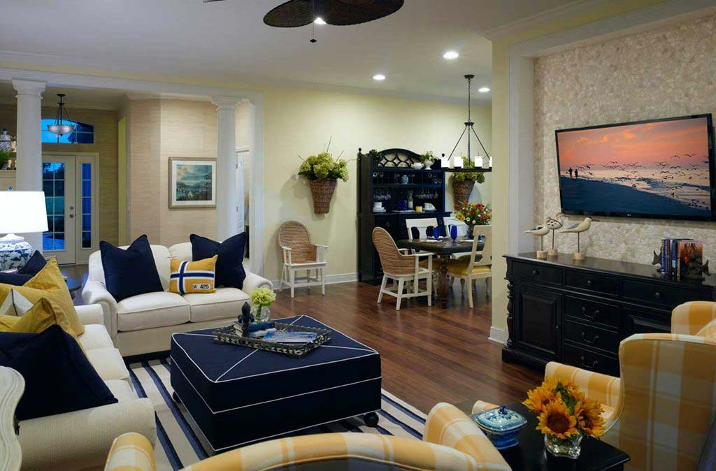 Windsong Model Home in Estero Place by Neal Communities