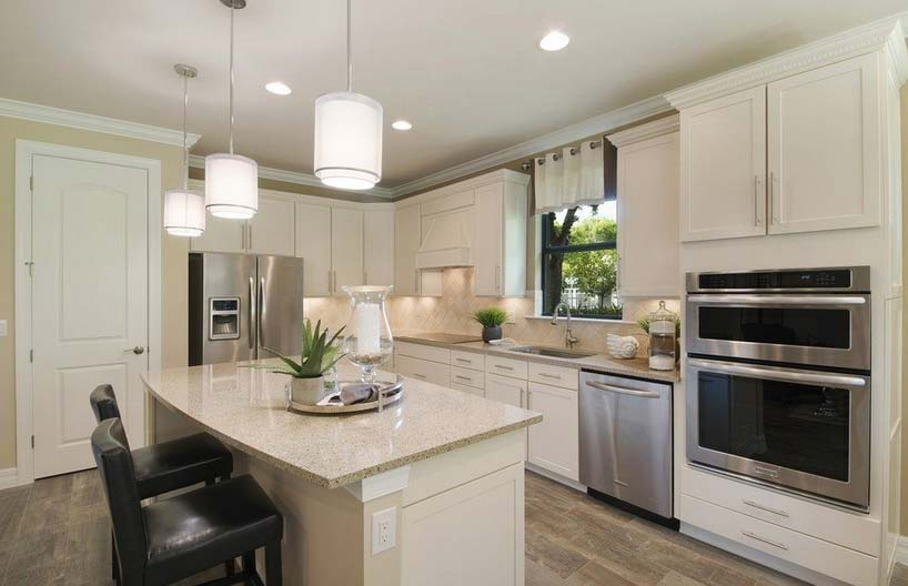 Abbeyville Model Home in Tidewater, Estero by Del Webb