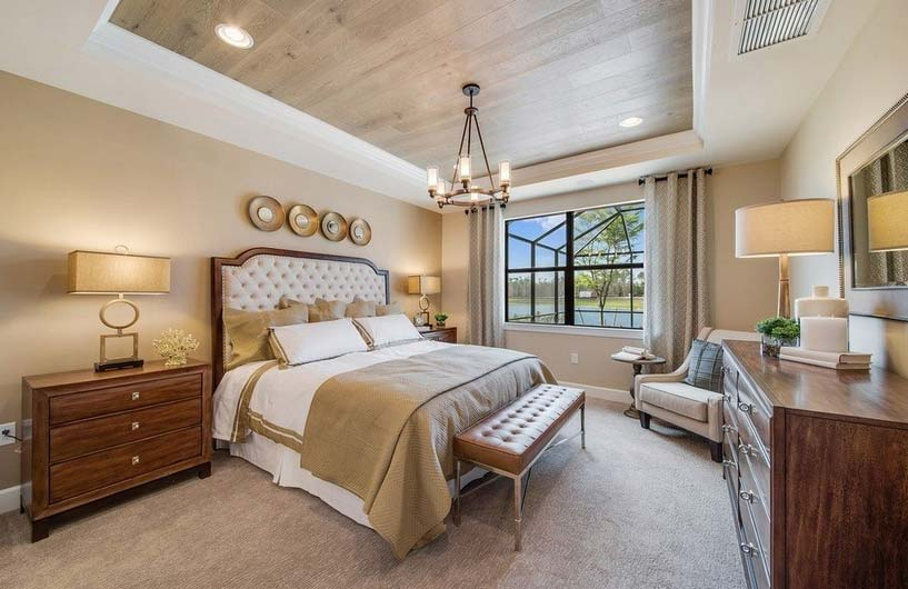 Summerwood Model Home in Tidewater, Estero by Del Webb