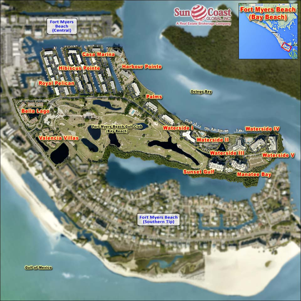 Bay Beach Overhead Map