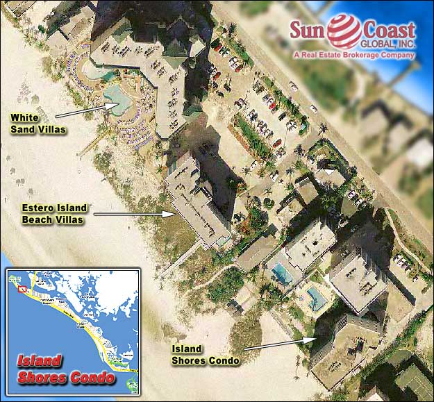 Island Shores Condo Overhead Map