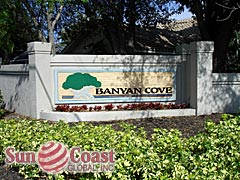Banyan Cove Community Sign