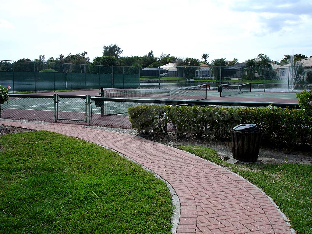 Caloosa Yacht And Racquet Club Tennis Courts