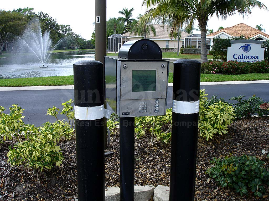 Caloosa Yacht And Racquet Club Guard Box