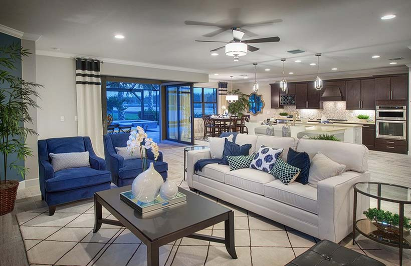 Infinity Model Home in Camden Square, Fort Myers, by Pulte
