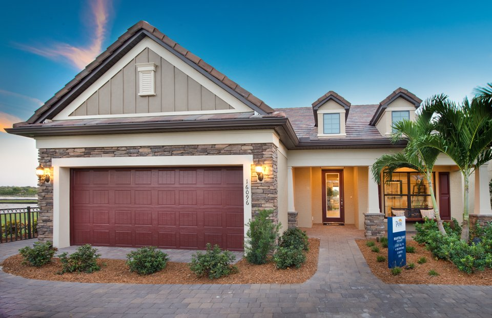 Martin Ray Model Home in Camden Square, Fort Myers, by Pulte