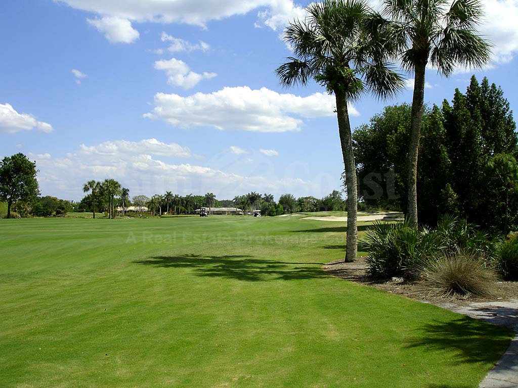 Cypress Lake Country Club Condos View of Golf Course