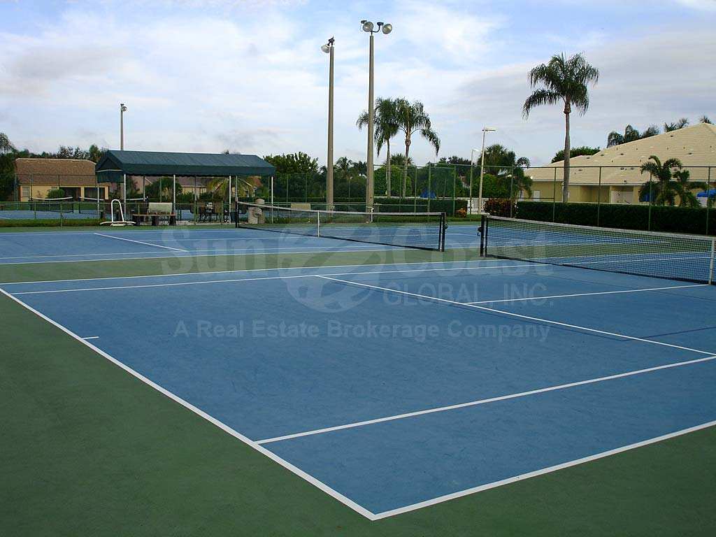 Cross Creek Estates Tennis Courts