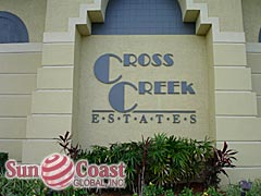Cross Creek Estates Waterfront Condos