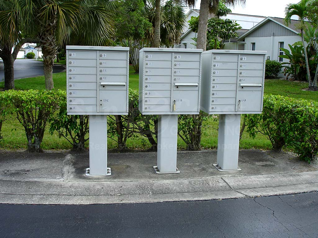 Cypress Keep Postal Boxes