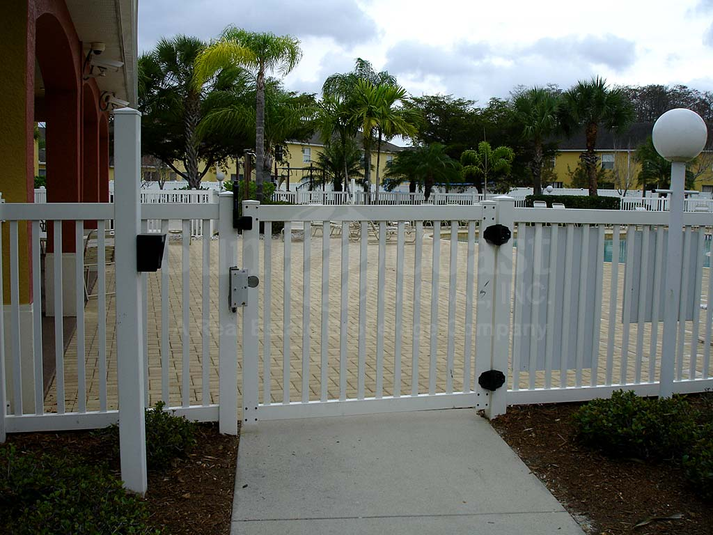Forest Lake Townhomes Community Pool Safety Fence