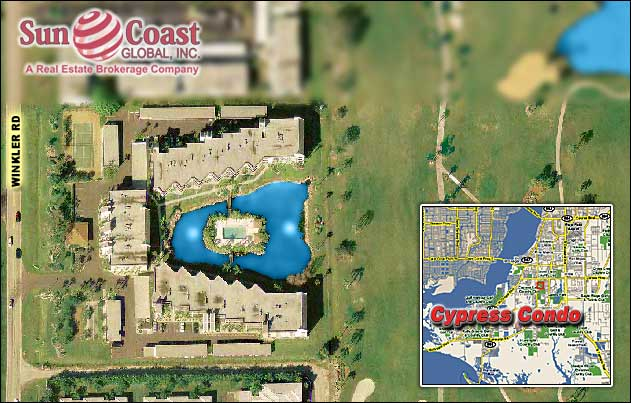 Cypress Condo Overhead Map