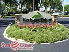 Heritage Palms Community Sign