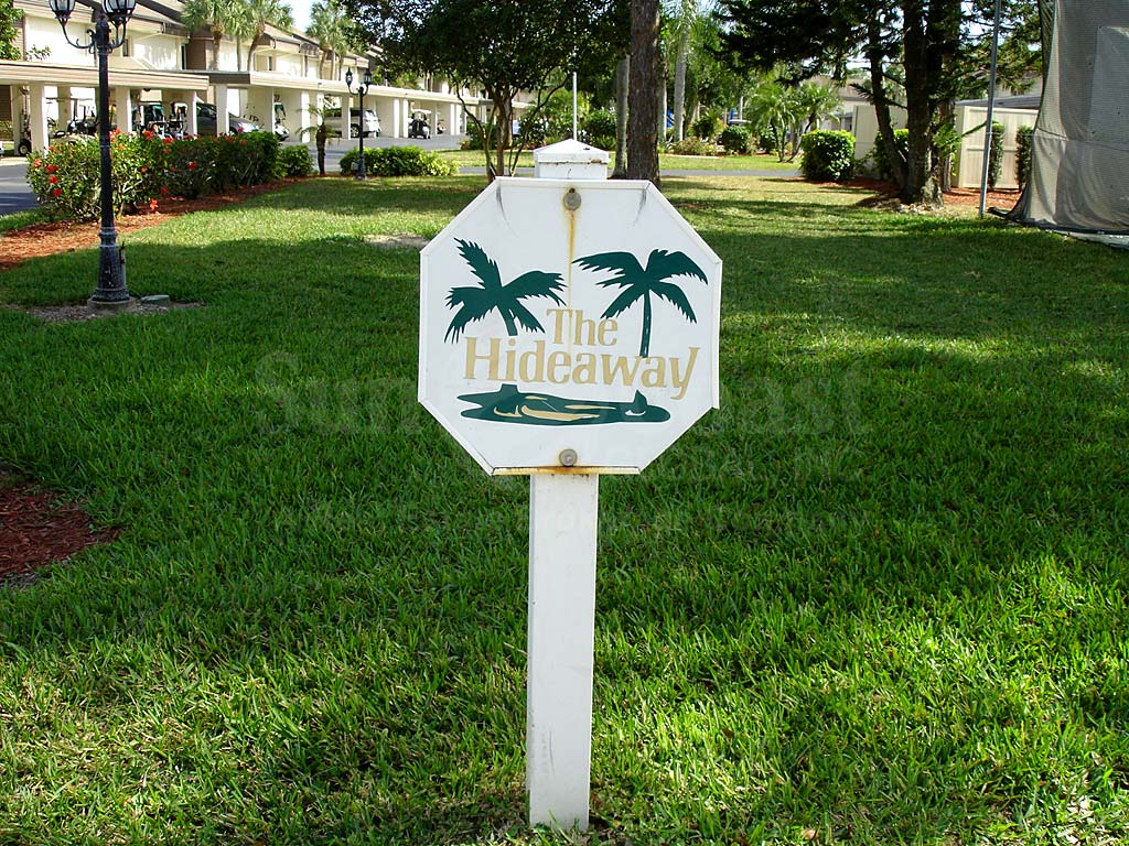 Hideaway Country Club Signage