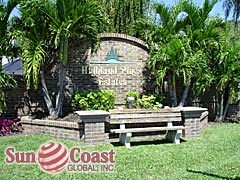 Highland Pines Estates Community Sign