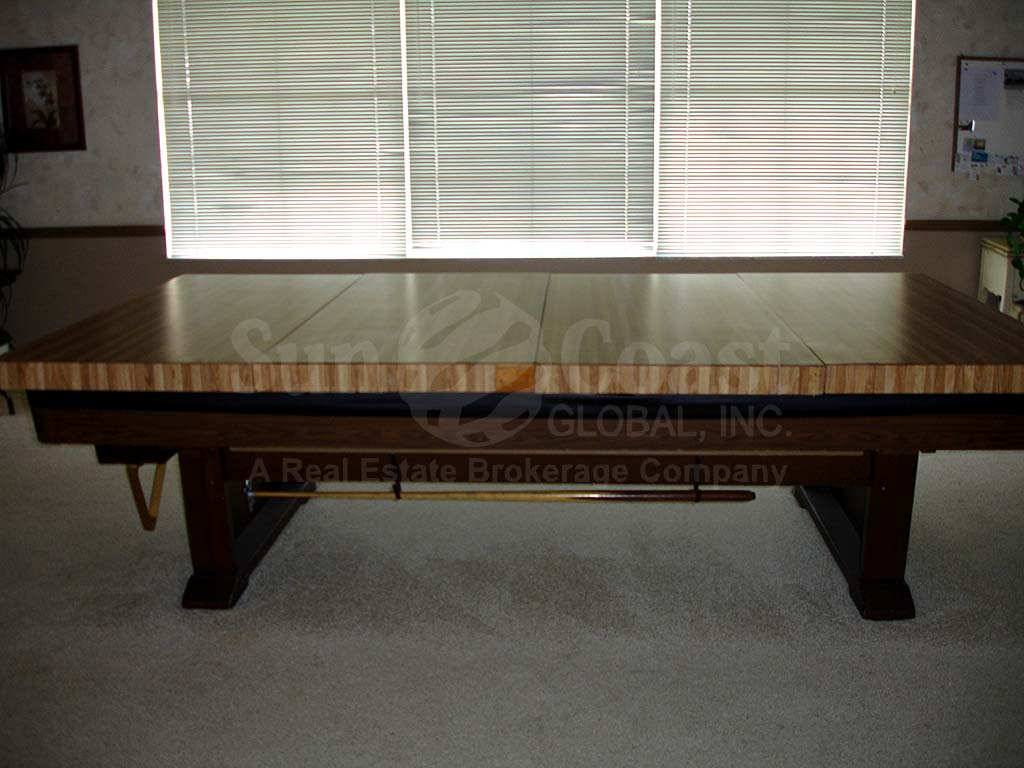 Myerlee Circle Clubhouse Pool Table