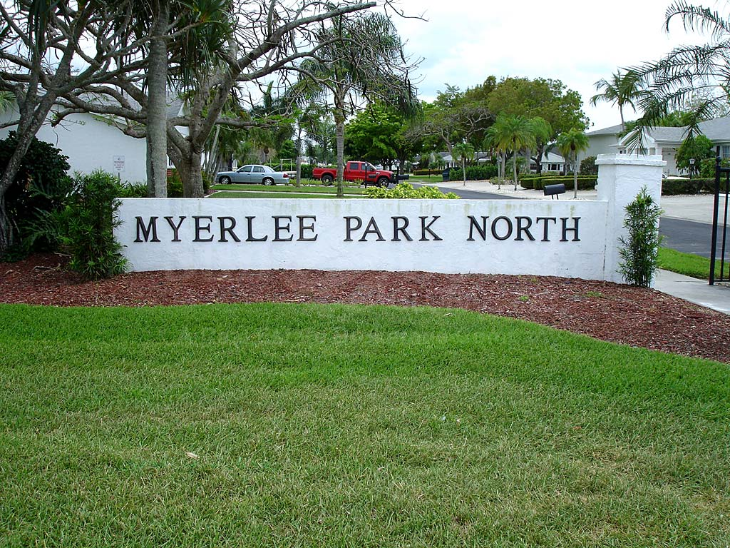 Myerlee Park North Signage