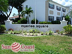 Myerlee Square Community Sign