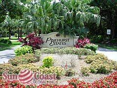 Pinehurst Estates Community Sign