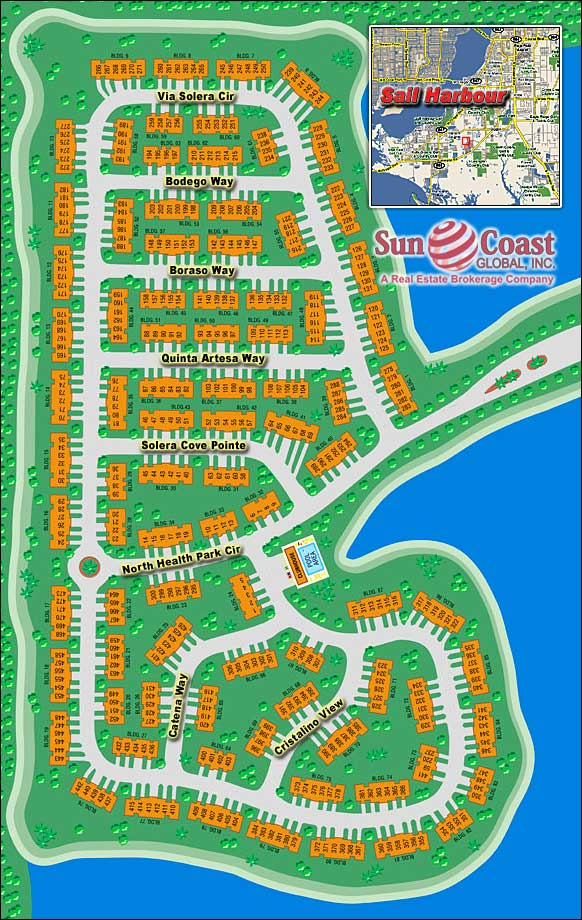 Sail Harbour Overhead Map
