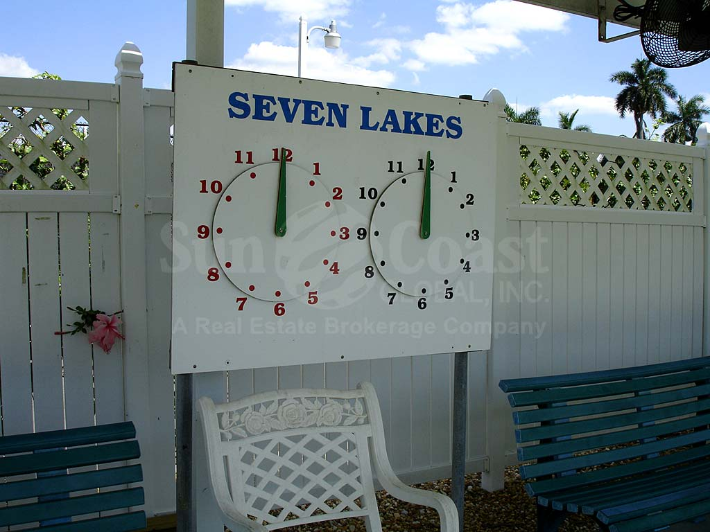 Seven Lakes Pool Timers