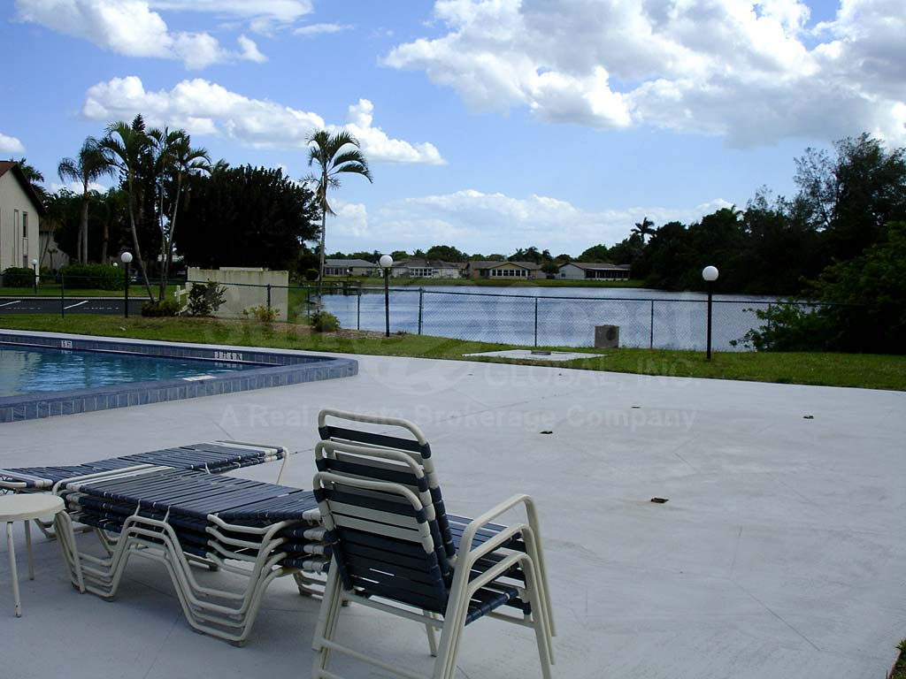 South Pointe Condos Community Pool and Sun Deck Furnishings