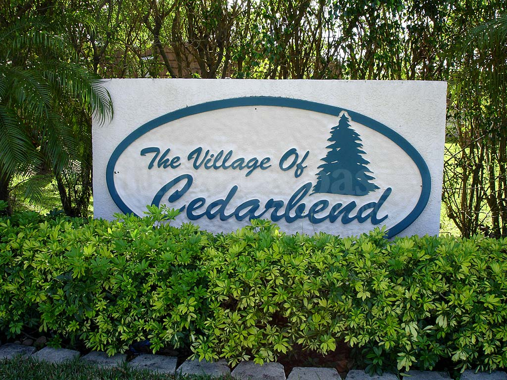 Village Of Cedarbend Signage