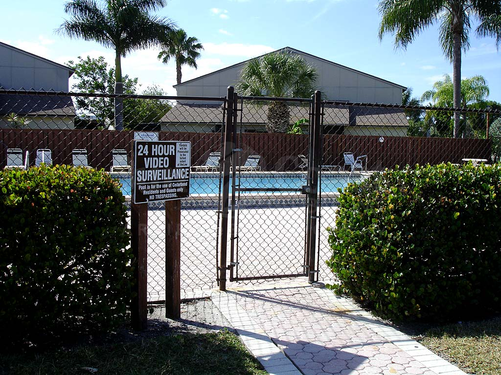 Village Of Cedarbend Community Pool Safety Fence
