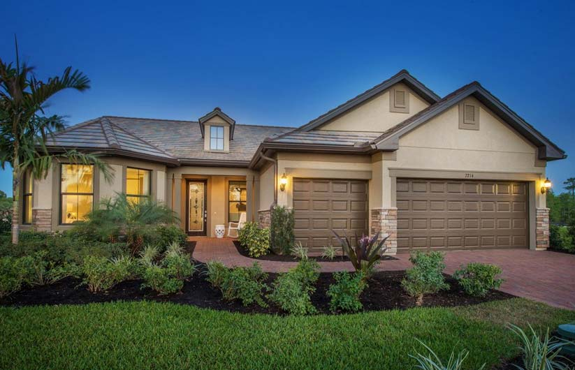 Pinnacle Model Home in Waters Edge at Peppertree Pointe, Fort Myers, by Pulte
