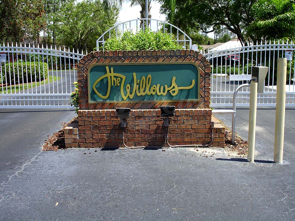 Willows Signage