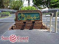 Willows Community Sign