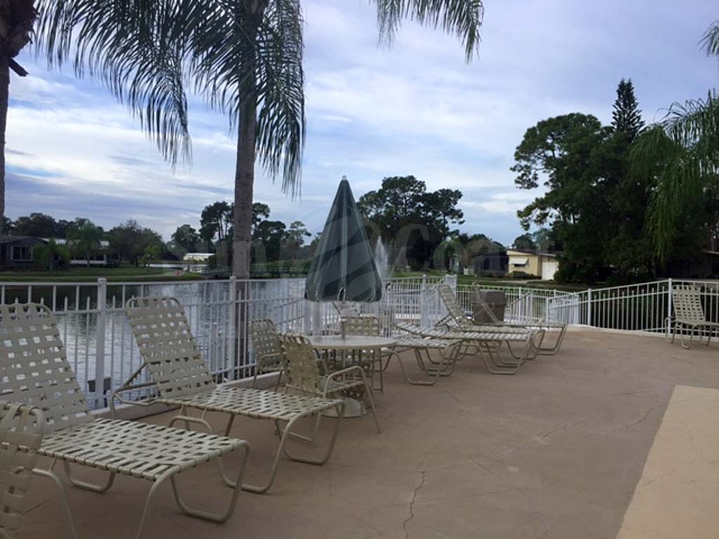 Lake Fairways Community Pool and Sun Deck Furnishings