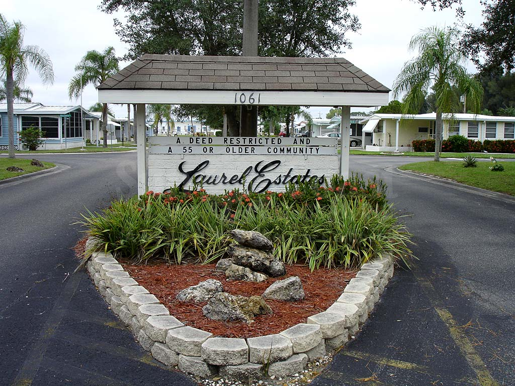 Laurel Estates Signage