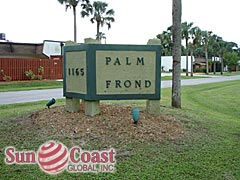 Palm Frond Community Sign