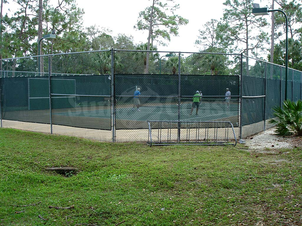 Pine Lakes Country Club Tennis Court