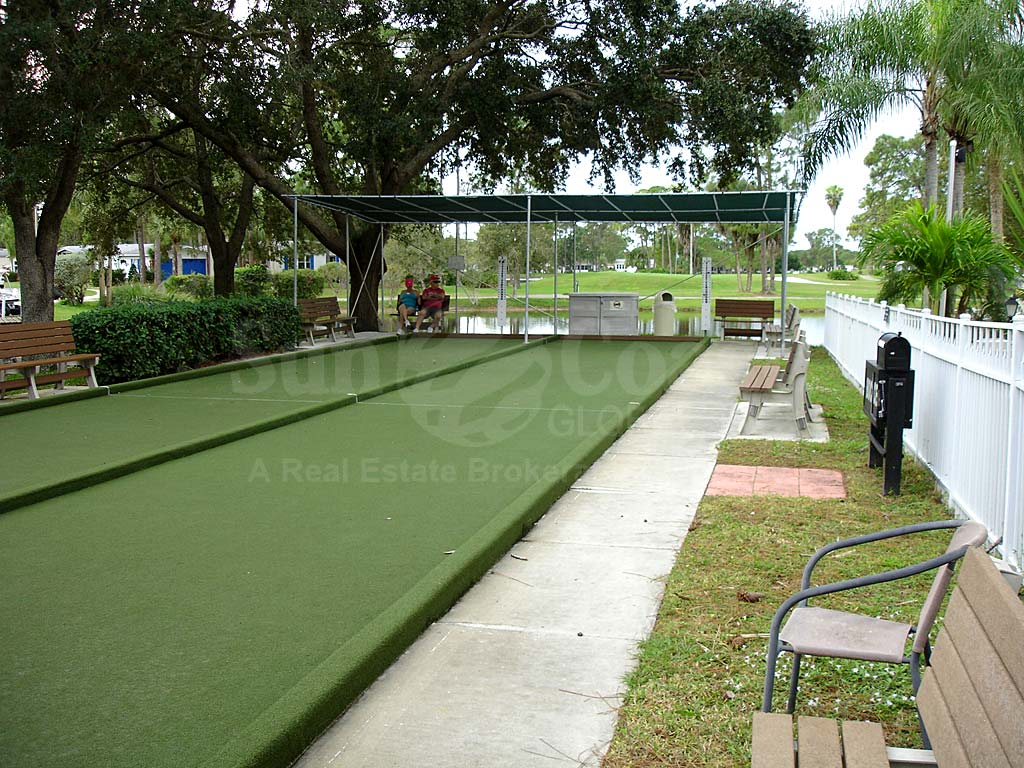 Pine Lakes Country Club Bocce Ball Courts