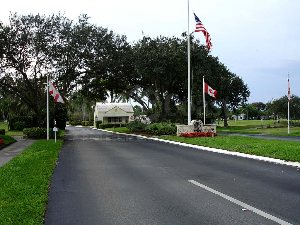 Pine Lakes Country Club Entrance