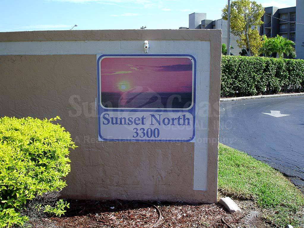 Sunset North Signage
