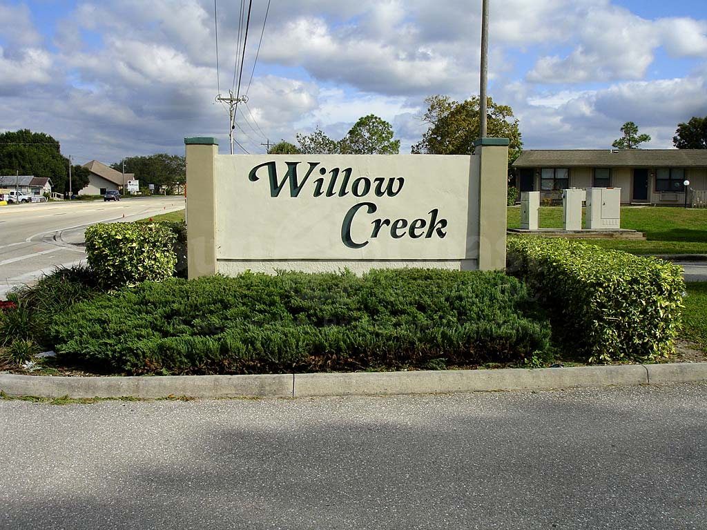 Willow Creek Signage