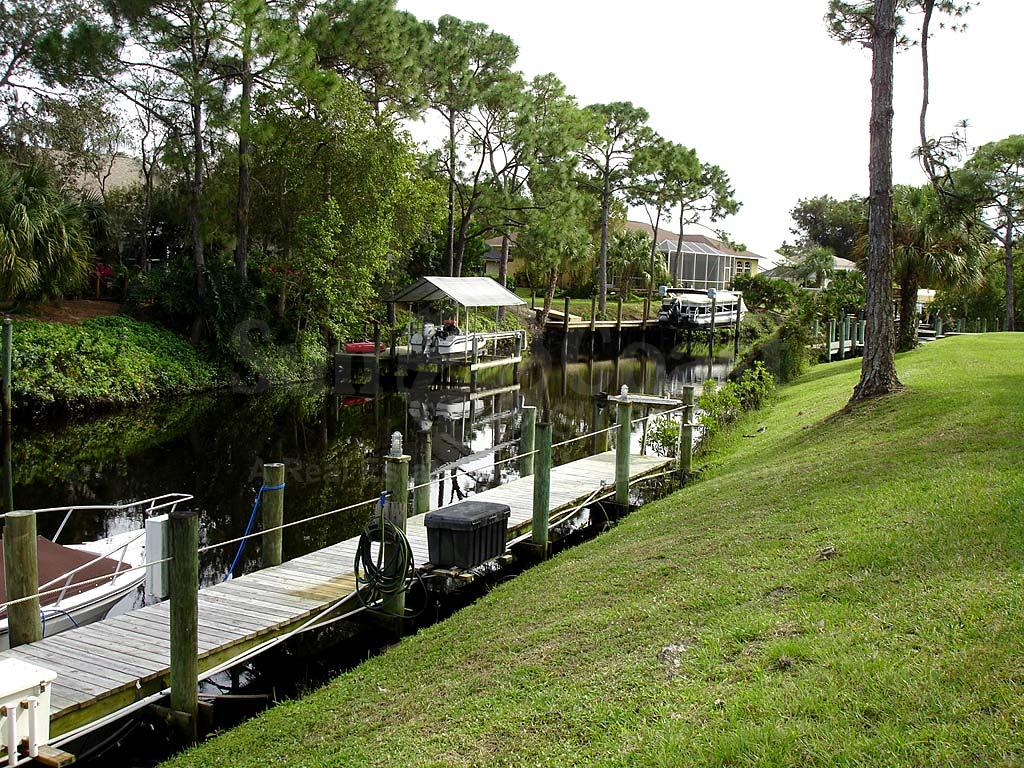 View Down the Canal From Yachtsmans Cove